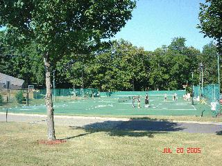 Park St. Basketball - Tennis Courts
